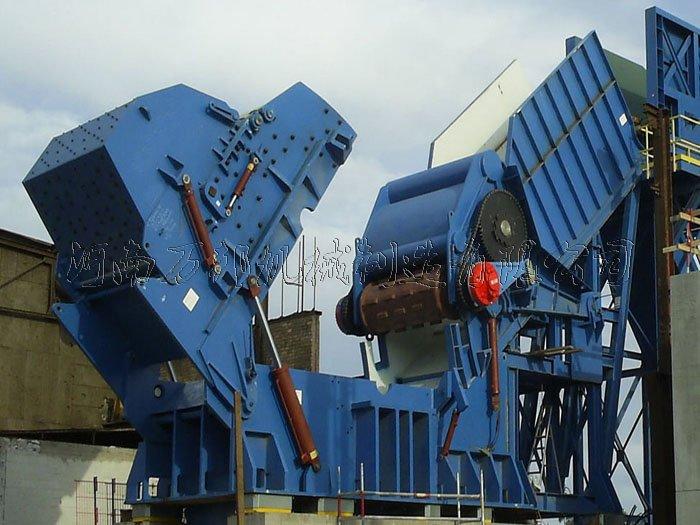 4000马力废钢破碎生产线